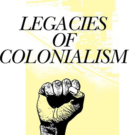 Legacies of Colonialism poster