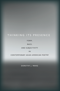 Cover of book, Thinking Its Presence